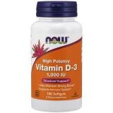 Vitamin D3 1000IU, 180 kapsuli