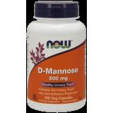 D-Mannose 500mg, 120 kapsuli