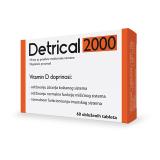 Detrical 2000IU, 60 oblozeni tableti