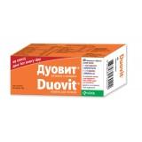 Duovit vitamini i minerali, 40 oblozeni tableti