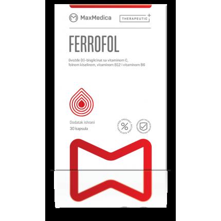 Ferrofol x 30 kapsuli MaxMedica